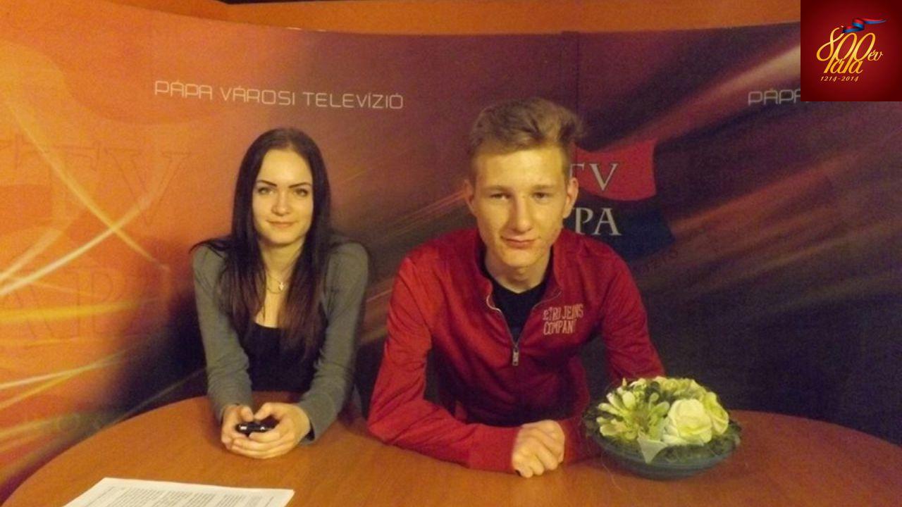 Pápa Városi Televízió stábja