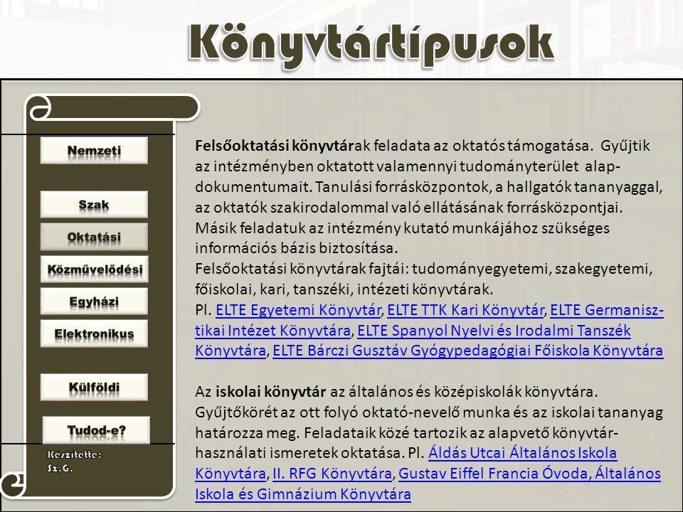 SzTE Klebersberg KönyvtárKodolányi János Főiskola Könyvtár II.