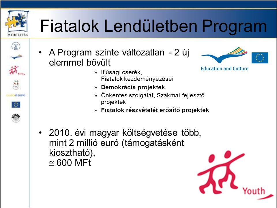 Gyermek és Ifjúsági Alapprogram •A Program szakmai koordinációt a MOISZ végzi, pályázatait az ESZA Kht kezeli 220 MFt •DARIT.