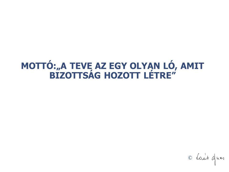 """© MOTTÓ:""""A TEVE AZ EGY OLYAN LÓ, AMIT BIZOTTSÁG HOZOTT LÉTRE"""""""