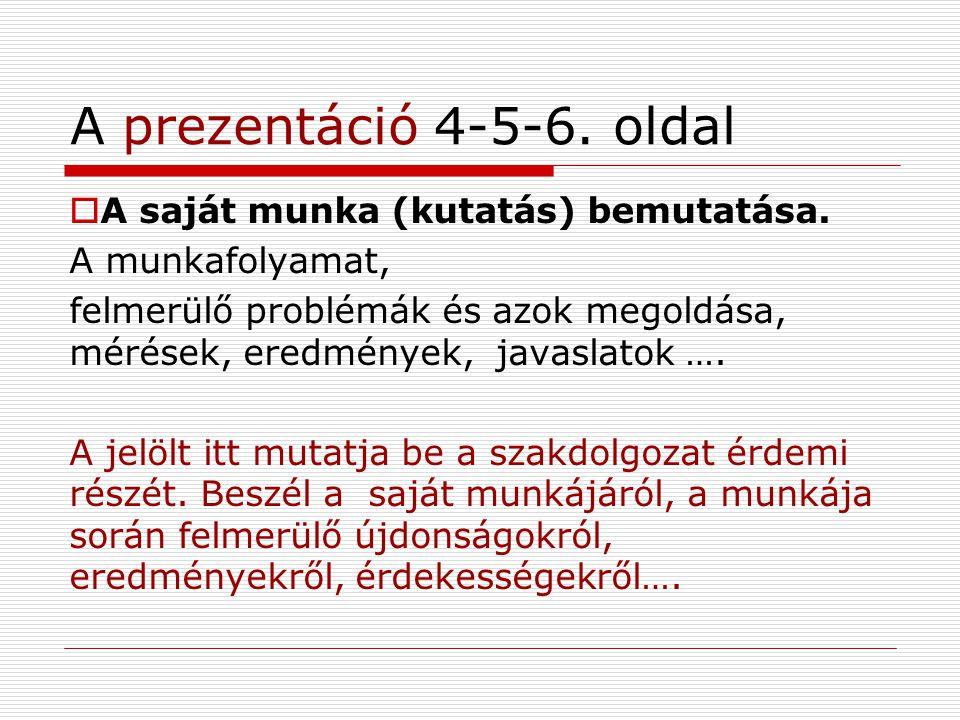 A prezentáció 7-8.