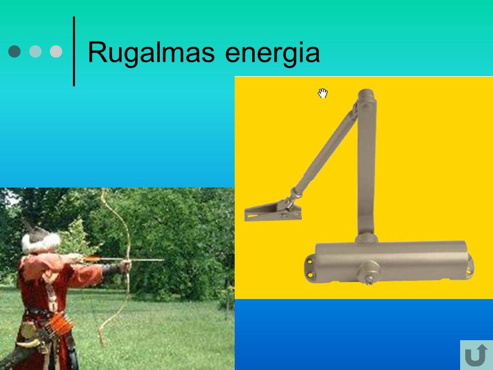 Rugalmas energia