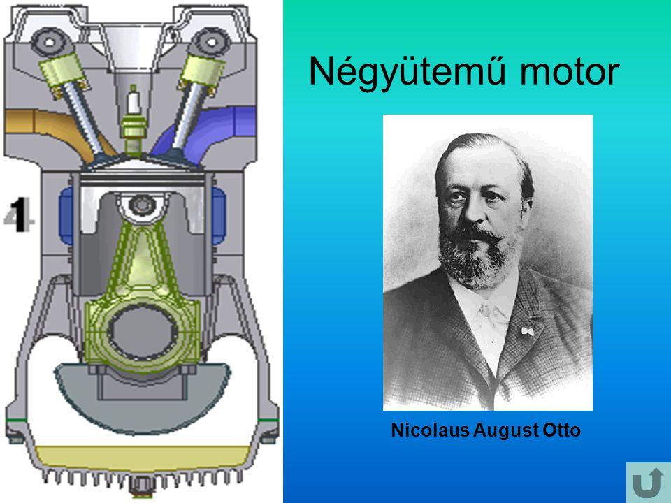 Négyütemű motor Nicolaus August Otto