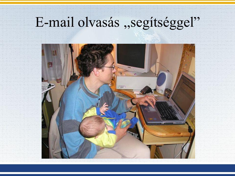 """E-mail olvasás """"segítséggel"""