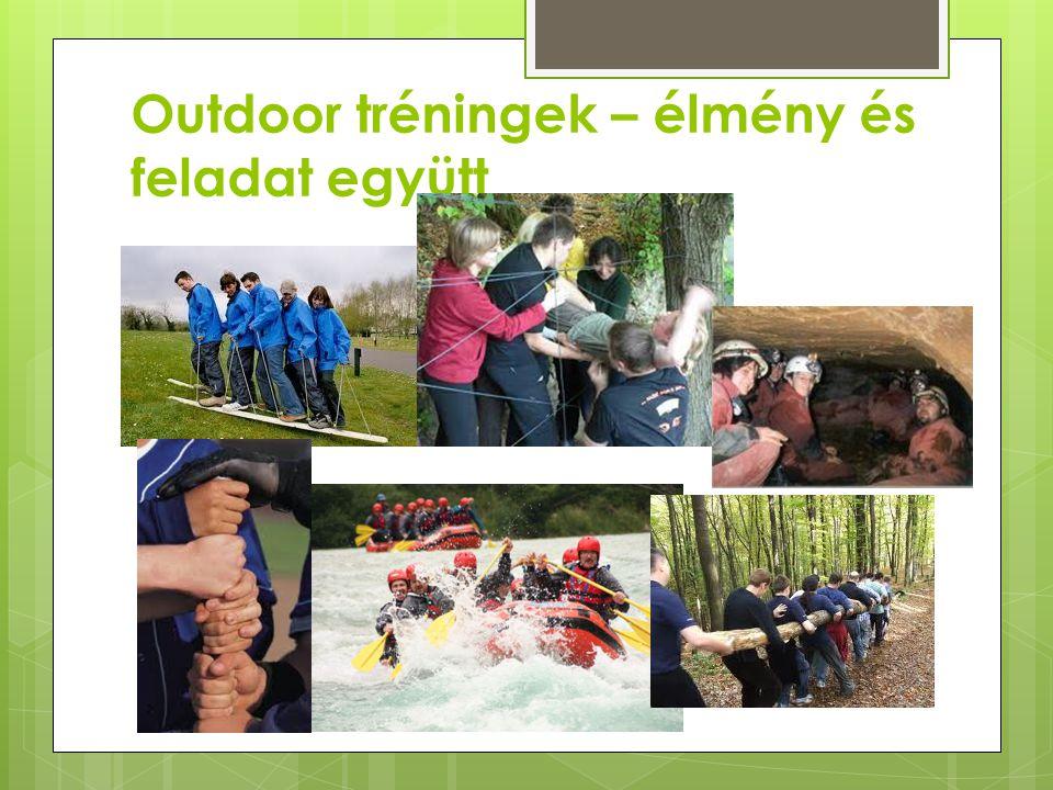 Outdoor tréningek – élmény és feladat együtt