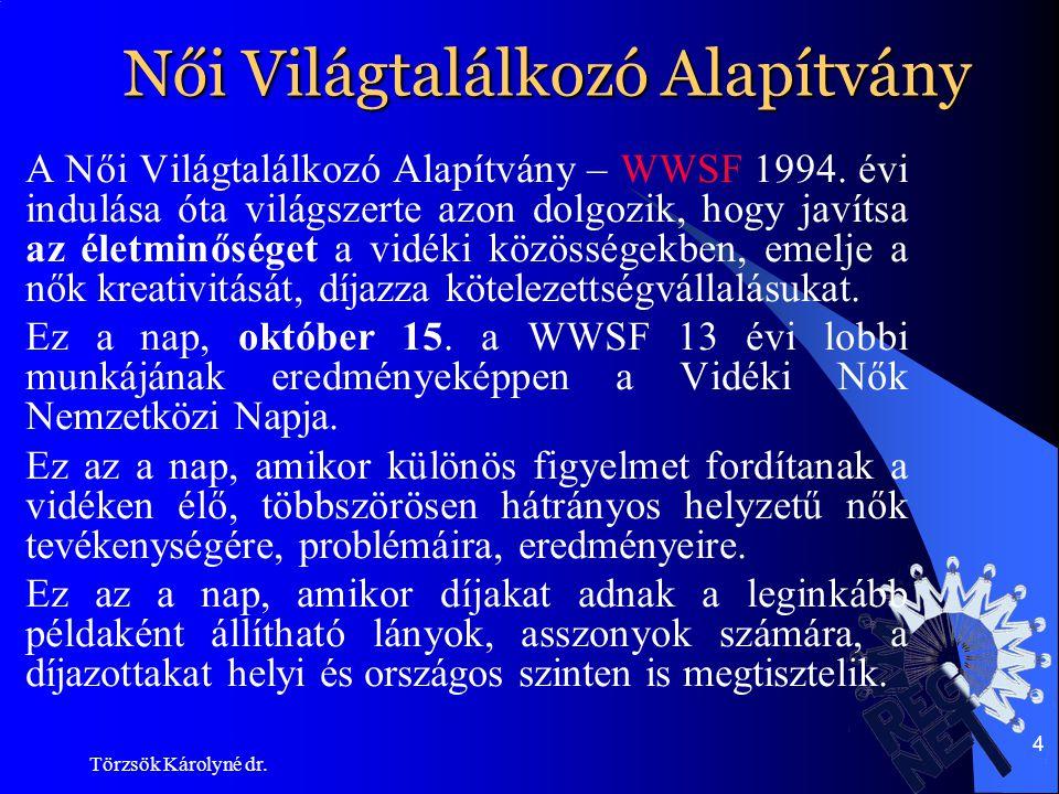 Törzsök Károlyné dr.15 A konferencia tanulságai II.