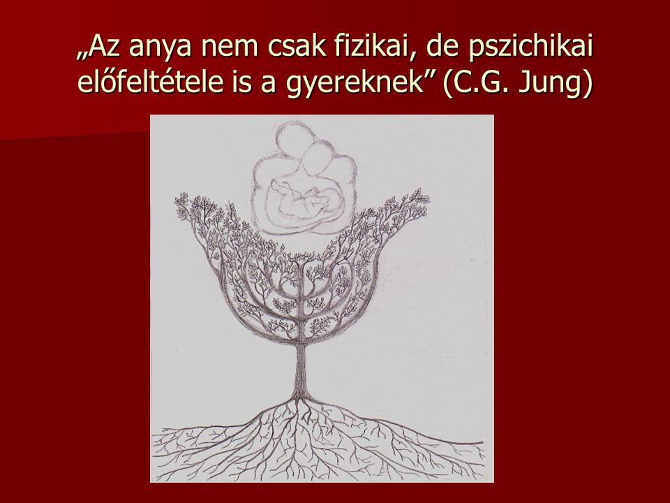 """""""Az anya nem csak fizikai, de pszichikai előfeltétele is a gyereknek (C.G. Jung)"""