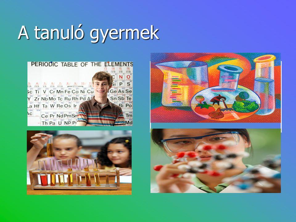 A tanuló gyermek