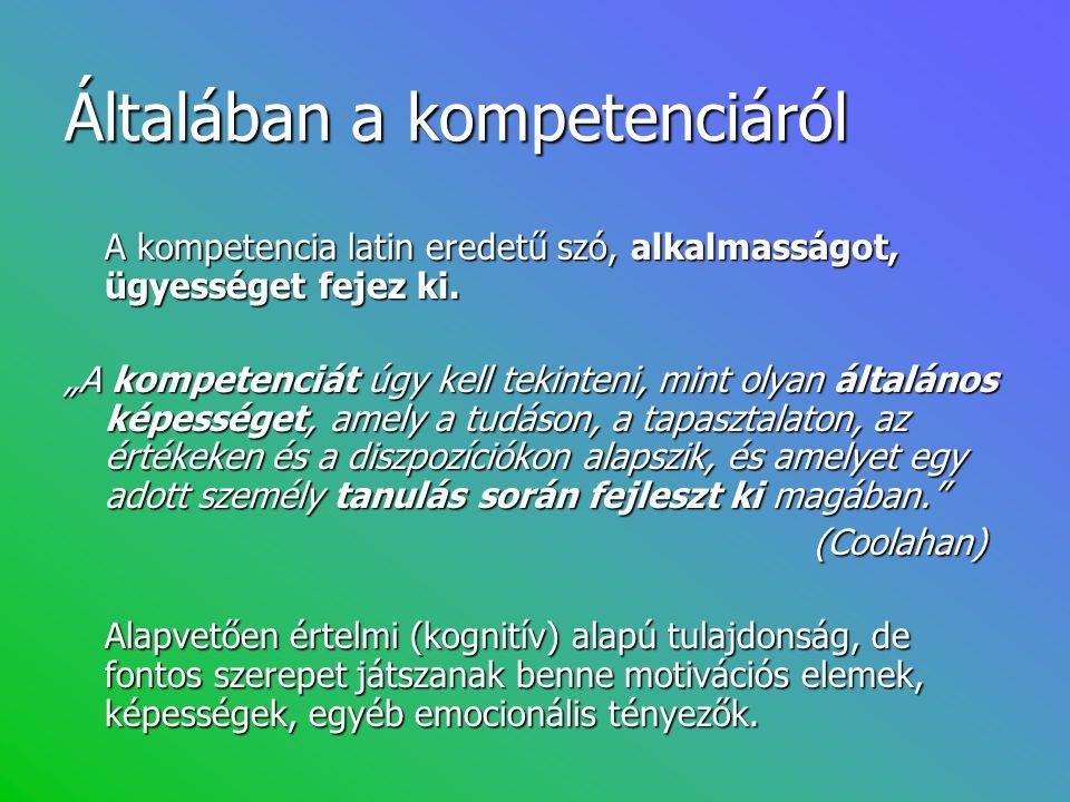 Pedagógusi sztenderdek 1.A tantárgy ismerete 2. Az emberi fejlődés és tanulás ismerete 3.