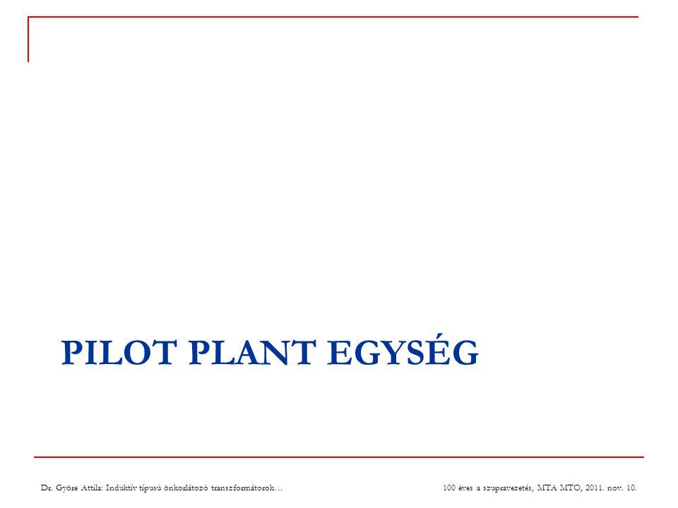 PILOT PLANT EGYSÉG 100 éves a szupravezetés, MTA MTO, 2011.