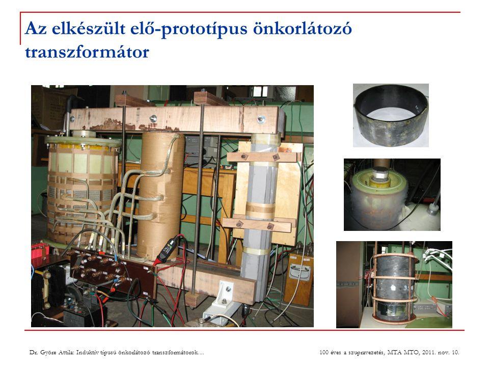 Transzformátoros üzemállapot 8 Dr.