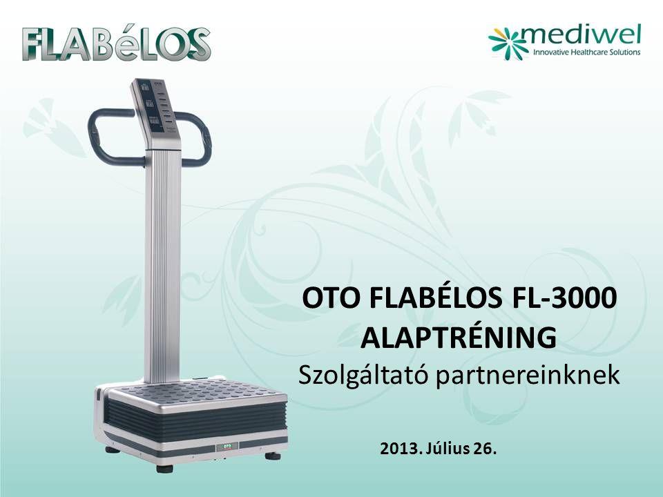 OTO FLABÉLOS FL-3000 ALAPTRÉNING Szolgáltató partnereinknek 2013. Július 26.