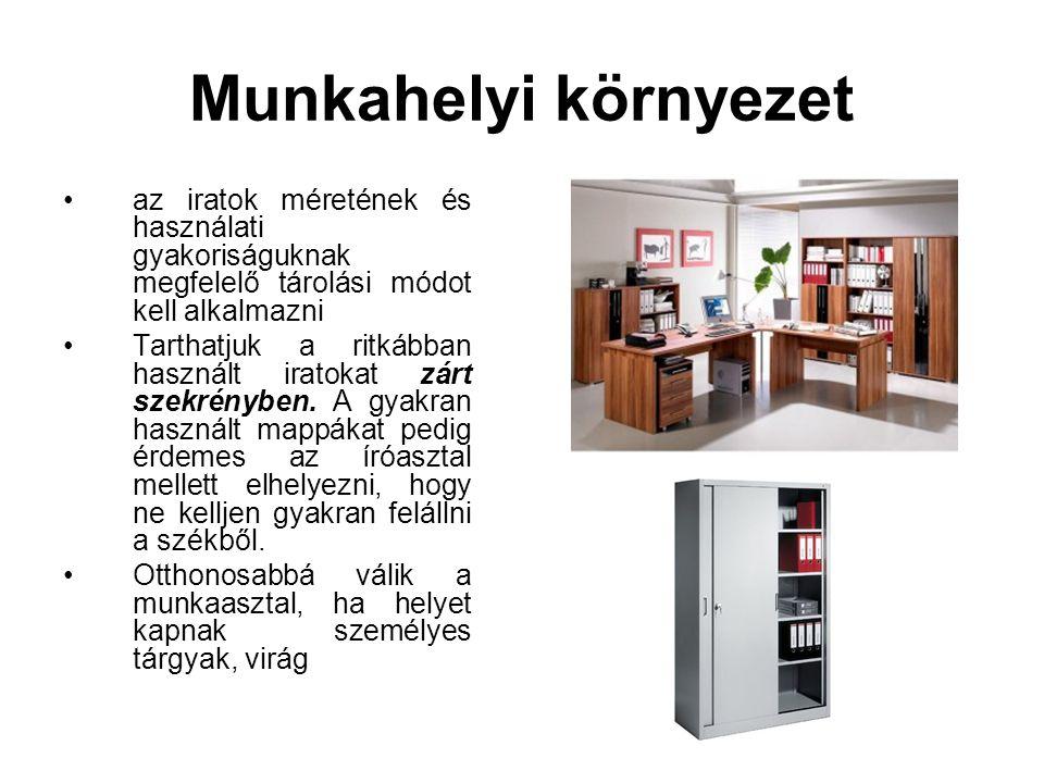 Fénymásoló •Az irodai munkában gyakori feladat a másolatok elkészítésének igénye.