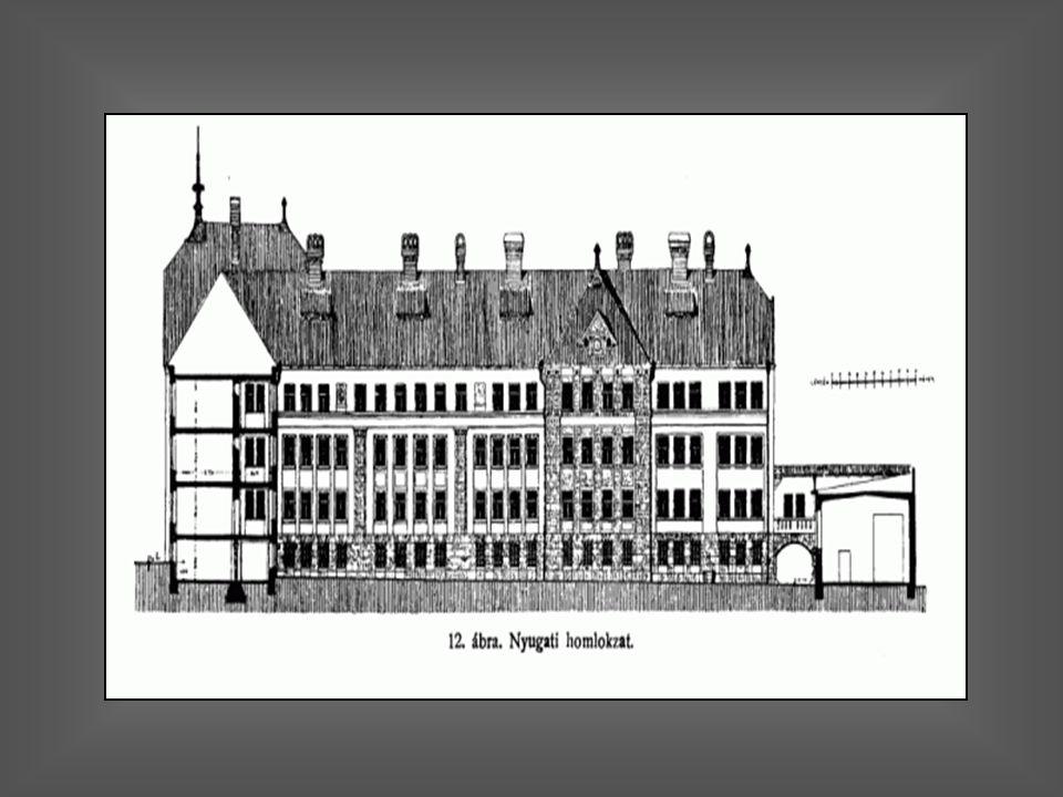 A megépített iskola...régen…és napjainkban