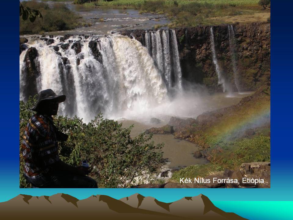 Kék Nílus Forrása, Etiópia