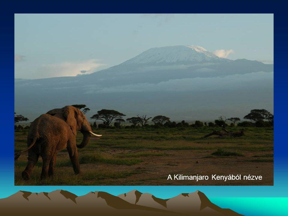 A Kilimanjaro Kenyából nézve