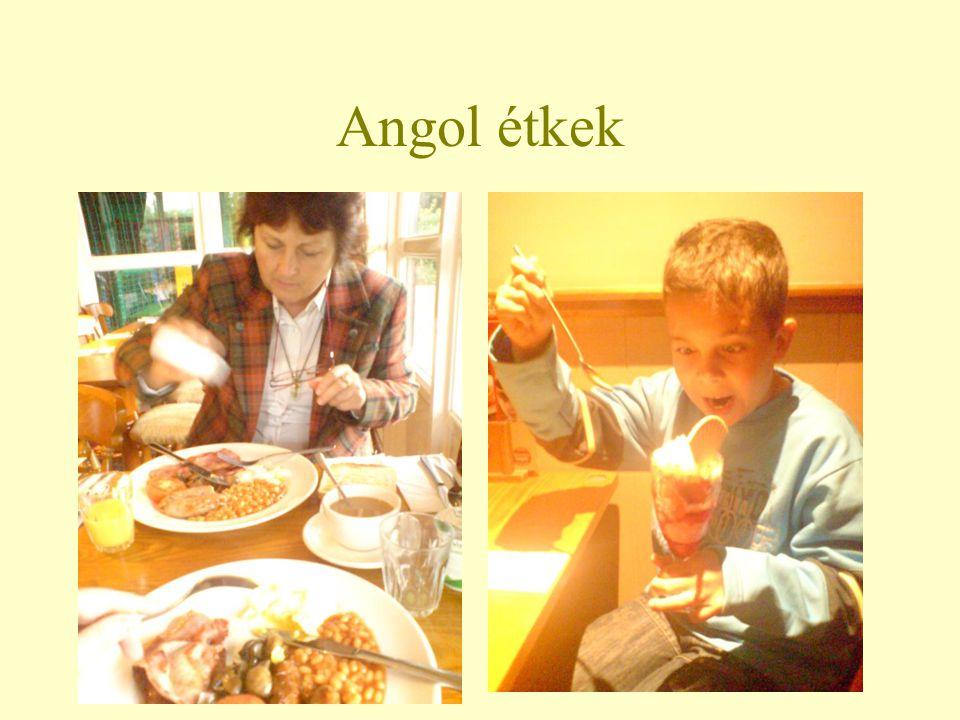 Angol étkek