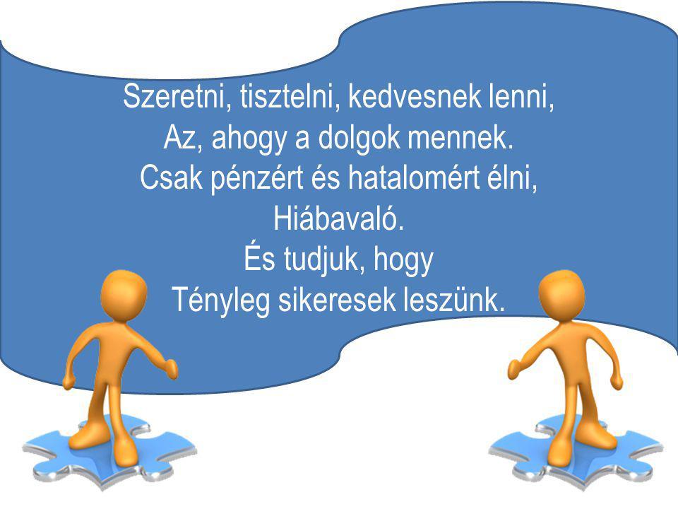 A kemény munka: A megoldásunk a problémákra. A feladás Olyasmi, amit soha nem tettünk.