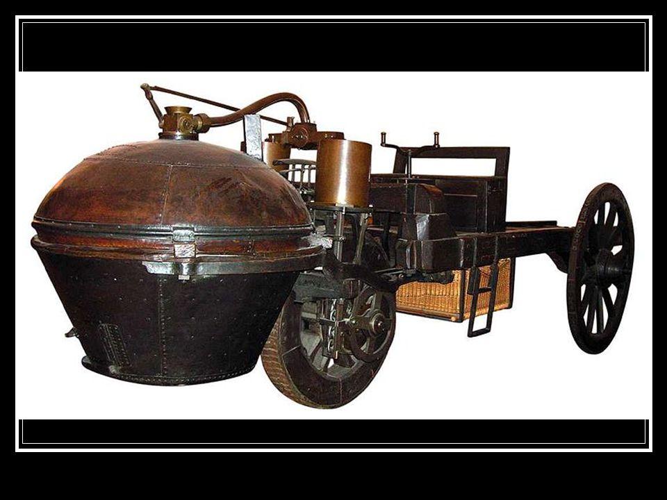 Az első belső égésű motorok  Belső égésű motor: Nikolaus August Otto német feltaláló (1832-1891) 1876-ban szabadalmaztatta a négyütemű motort, ami a mai motorok őse.
