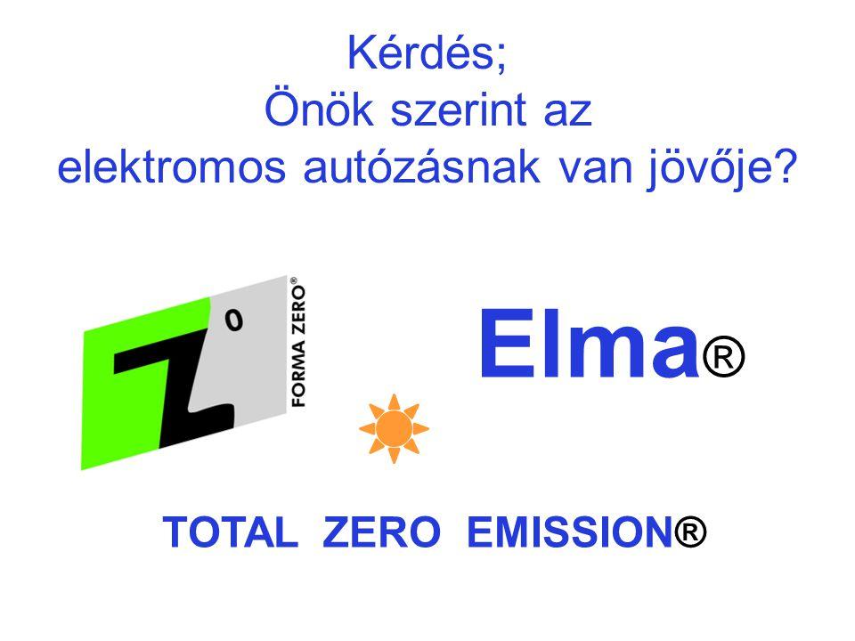 Otthon a városban - Rövid távolságok a városi autózásban: ez az ELMA ® autó előnye.
