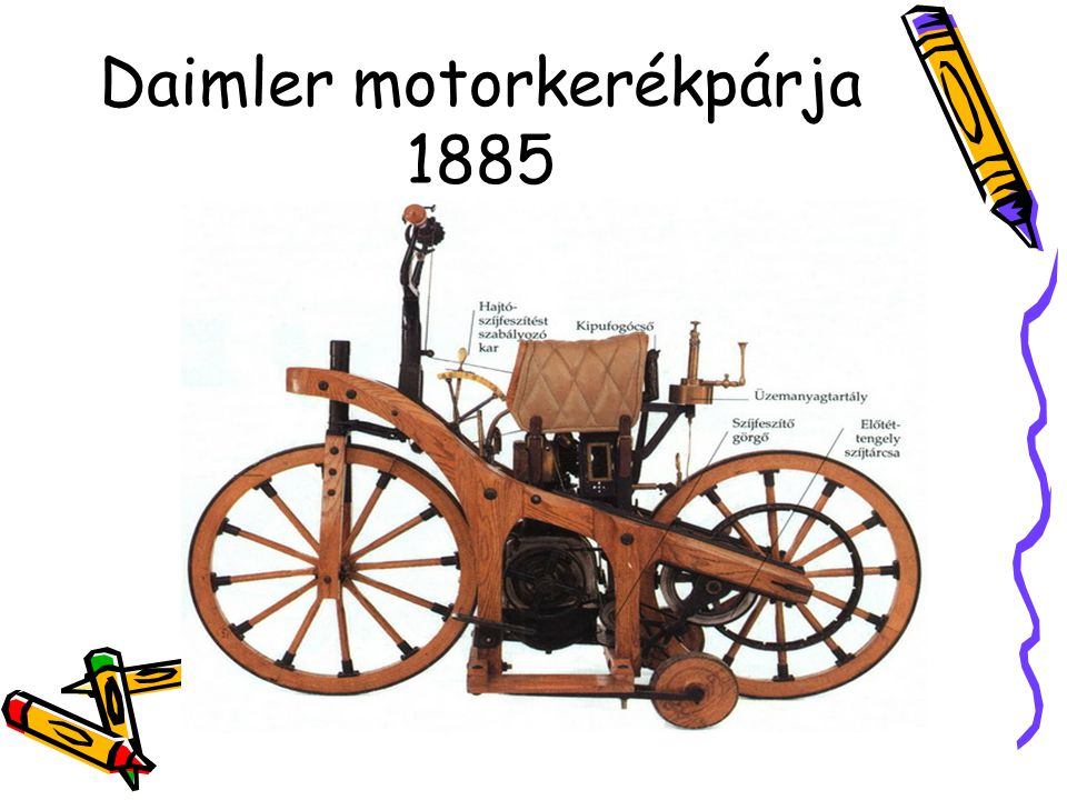 Daimler motorkerékpárja 1885