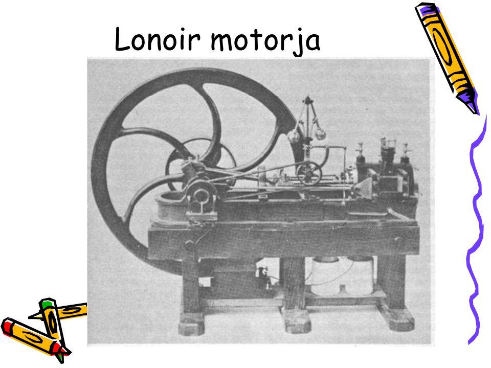 Otto és Langen •1867 Otto és Langen elkészíti a javított kivitelű belső égésű motort.