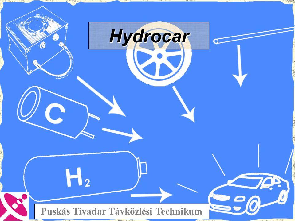 Anód: 2 H 2 => 4 H + + 4 e - Katód: O 2 + 4 H + + 4 e - => 2 H 2 O Egyesített reakció: 2 H 2 + O 2 => 2 H 2 O •Működési hőmérséklet: 5-35°C •Hatásfok: 30-40% PEM cella