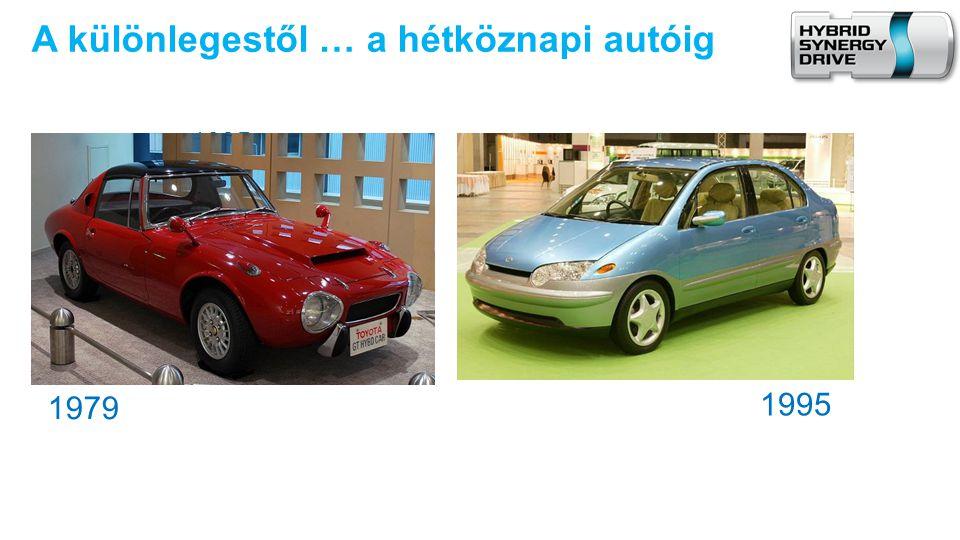 A különlegestől … a hétköznapi autóig 1995 1979 1995