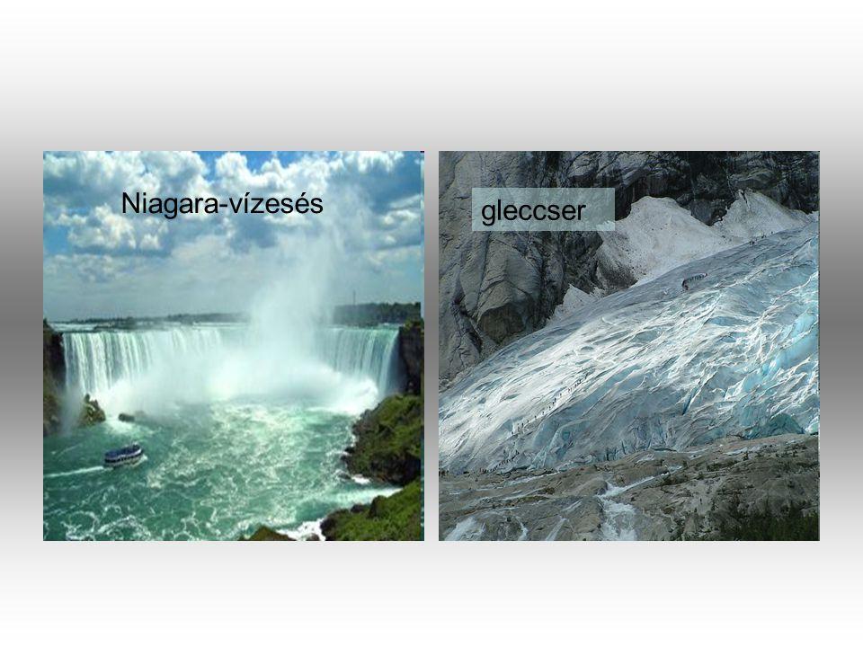 Niagara-vízesés gleccser