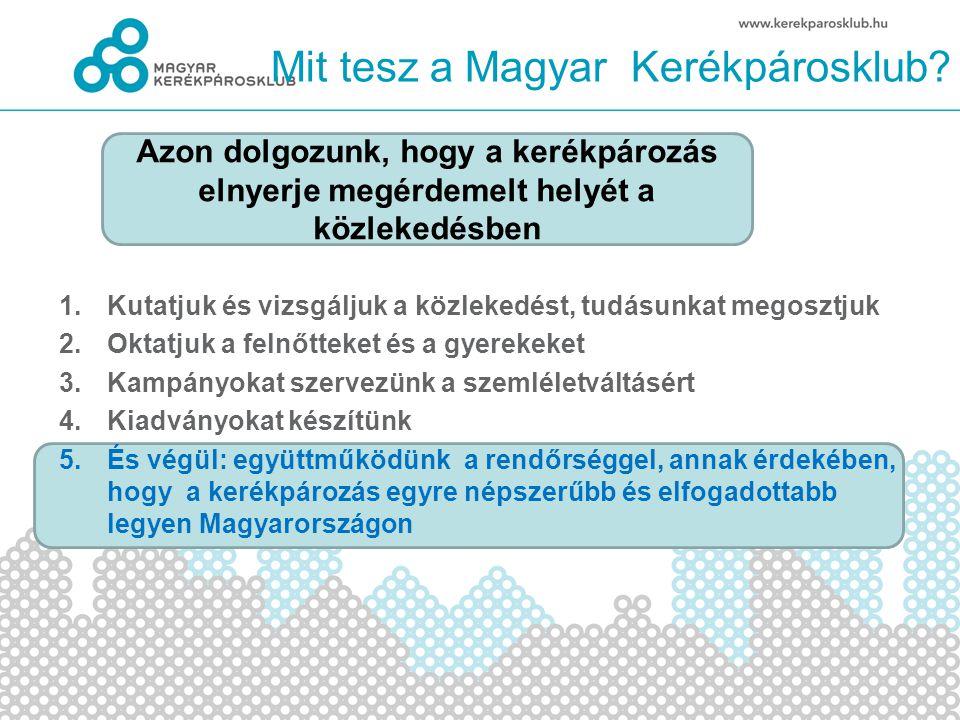 Mit tesz a Magyar Kerékpárosklub.