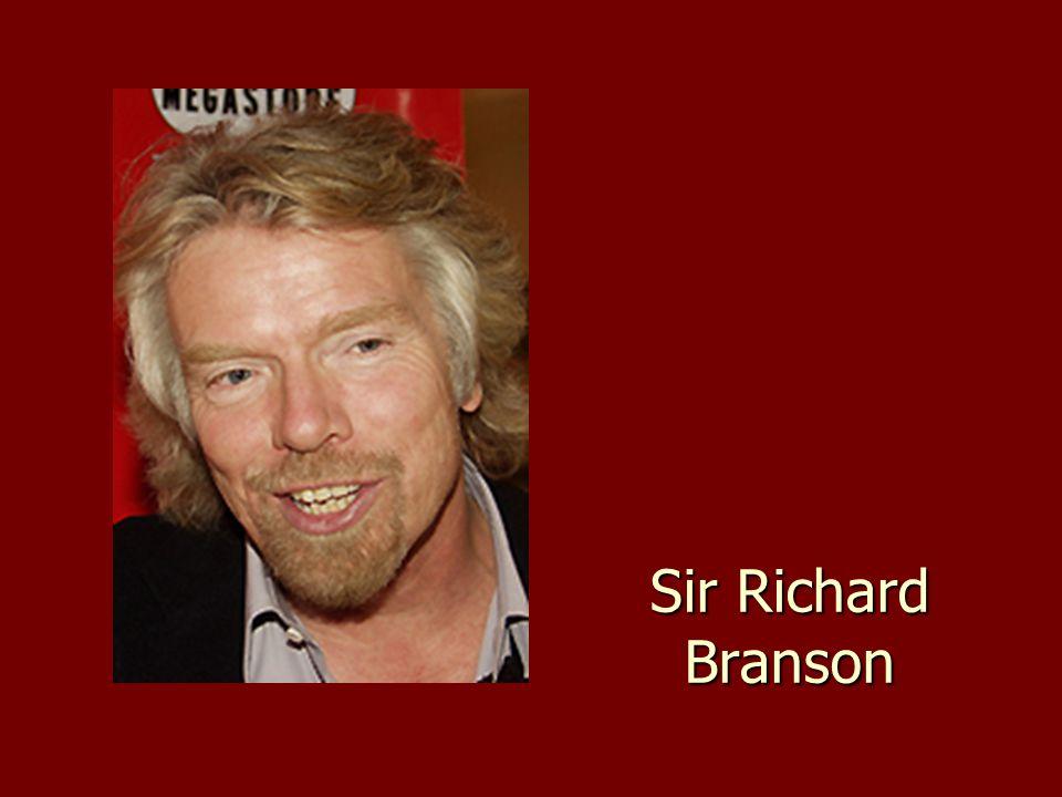 Branson minden sikere kudarcokból ered.
