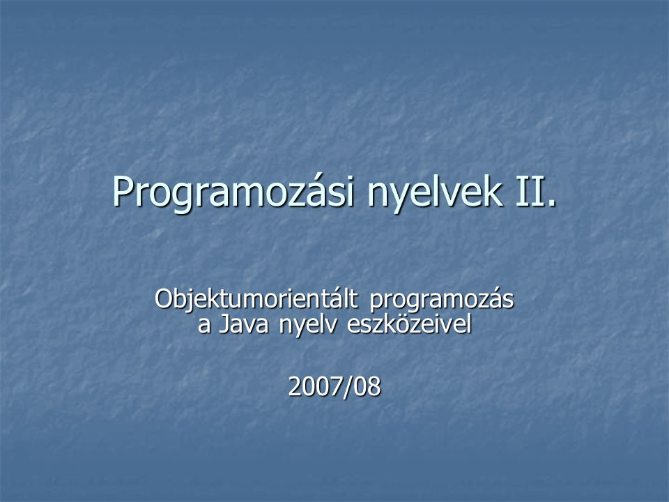 // Egy törpe megkeresése: void kereses() { System.out.println( \nKereses: ); Ember keresettEmber = new Ember( Console.readLine( Torpe neve: )); int poz = torpek.indexOf(keresettEmber); if (poz >= 0) System.out.println( Van, magassaga: + ((Ember)(torpek.get(poz))).getMagassag()); else System.out.println( Nincs ilyen ); } public static void main(String[] args) { TorpeProgram tp = new TorpeProgram(); tp.bevitel(); tp.lista1(); tp.lista2(); tp.lista3(); tp.kereses(); } }