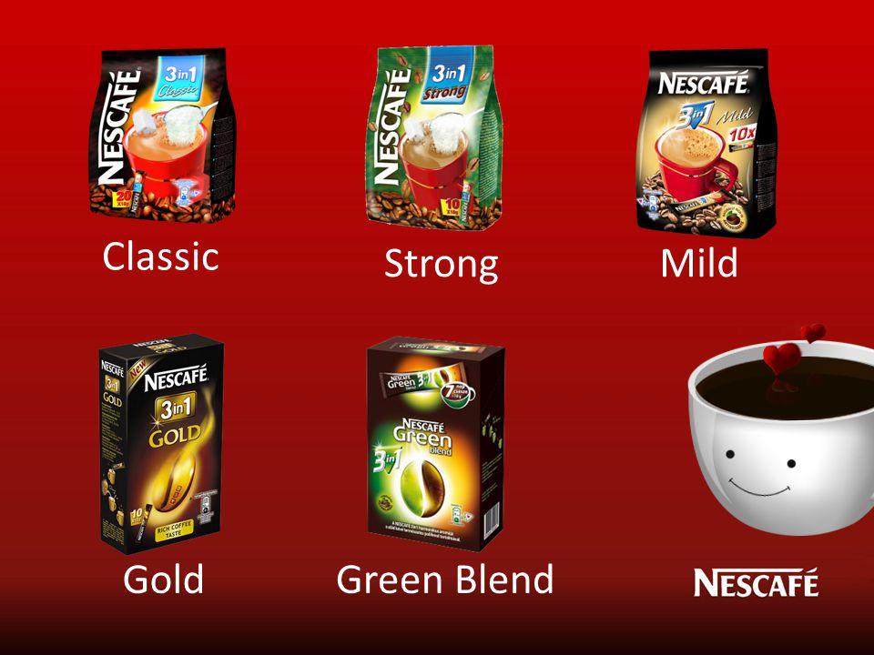 Classic StrongMild GoldGreen Blend