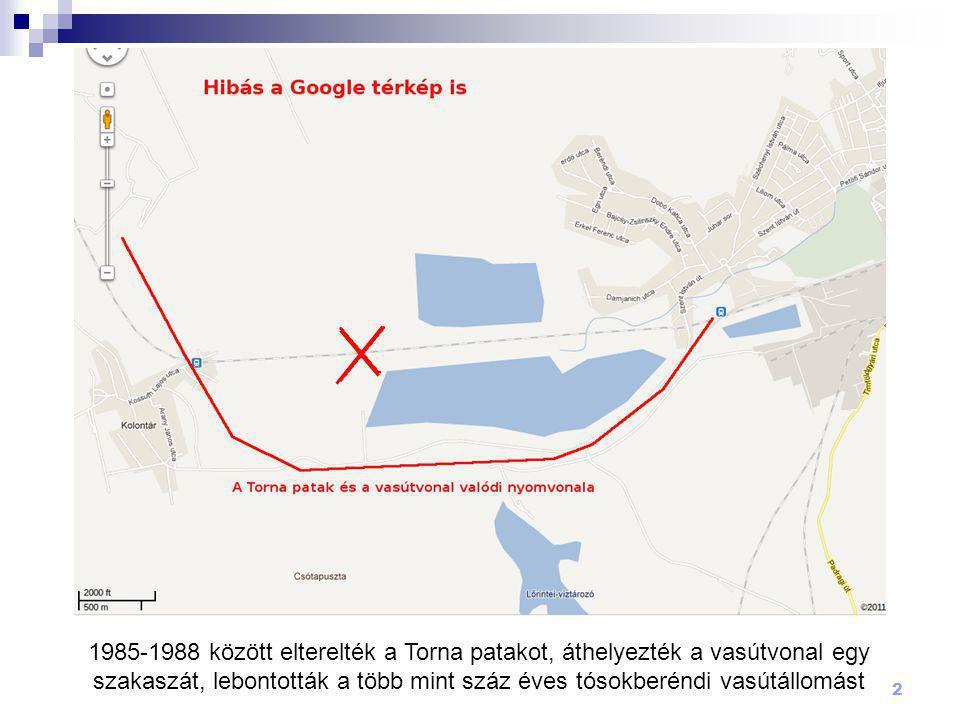 13 Volt(ak) Tósokberénden:  bíró  körjegyzőség  iskola  óvoda  vasútállomás  mozi  két olvasókör  munkahely (pl.