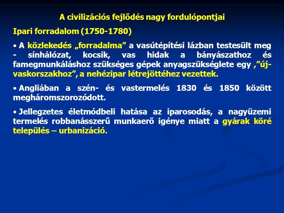 Civilizációs ártalmak • maholnap több lesz az árnyoldala, mint az előnye a civilizációs fejlődésnek.