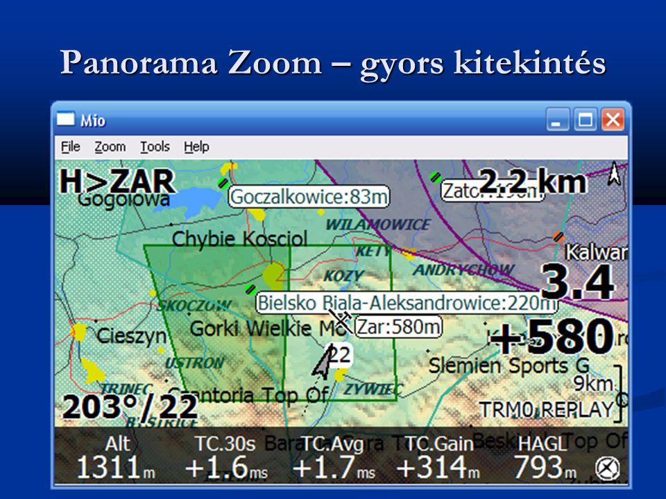 Panorama Zoom – gyors kitekintés