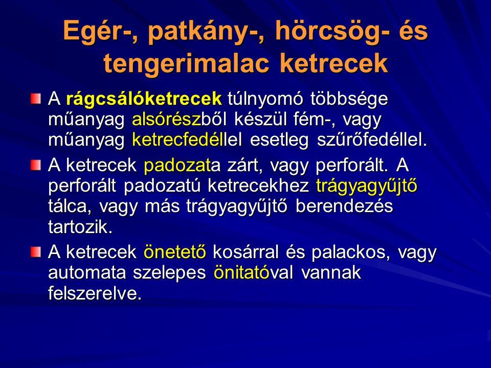 Eurostandard ketrectípusok IV tip.