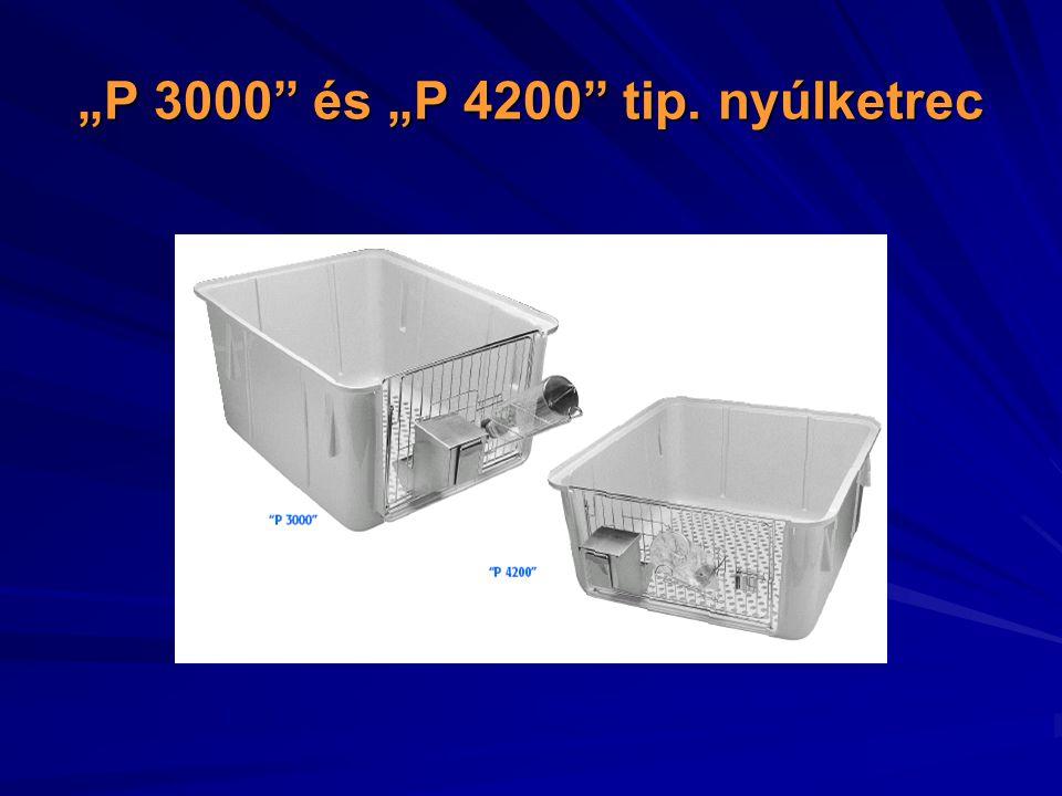 """P 3000 és ""P 4200 tip. nyúlketrec"