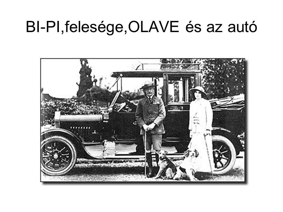 BI-PI,felesége,OLAVE és az autó