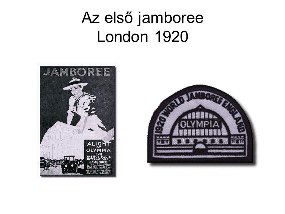 Az első jamboree London 1920