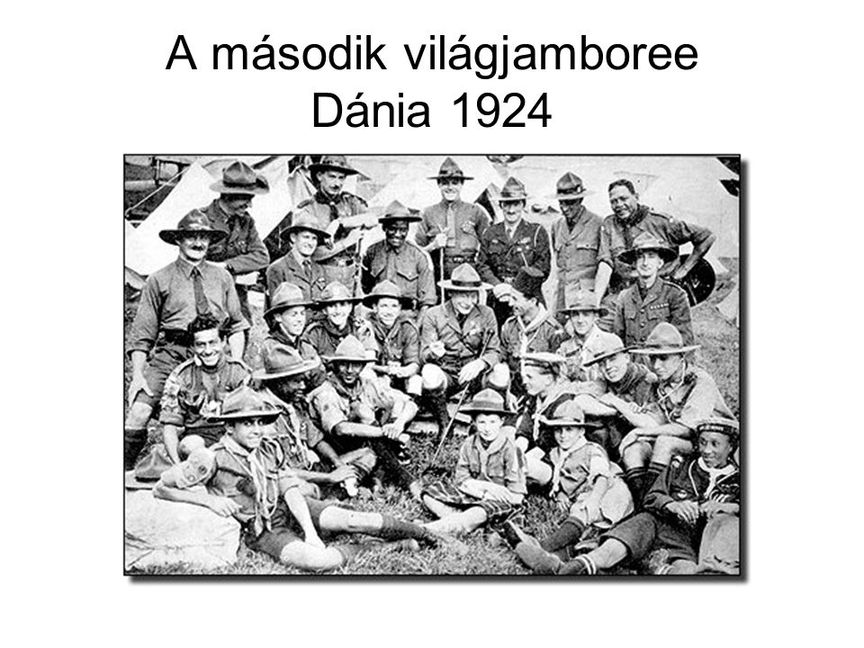 A második világjamboree Dánia 1924
