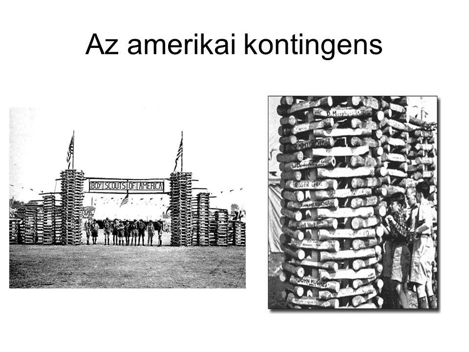 Az amerikai kontingens