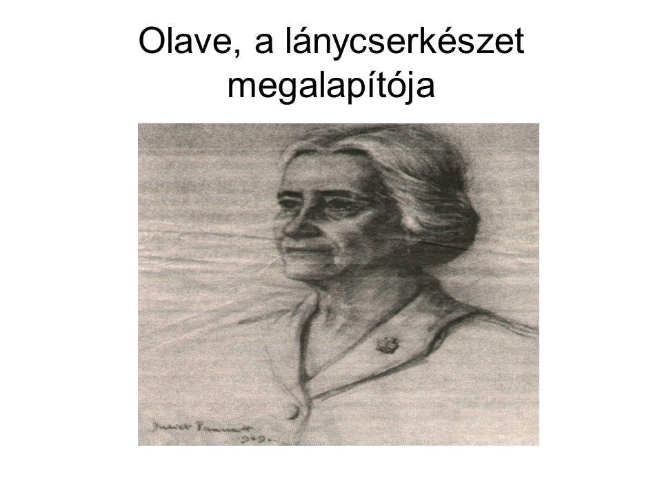 Olave, a lánycserkészet megalapítója