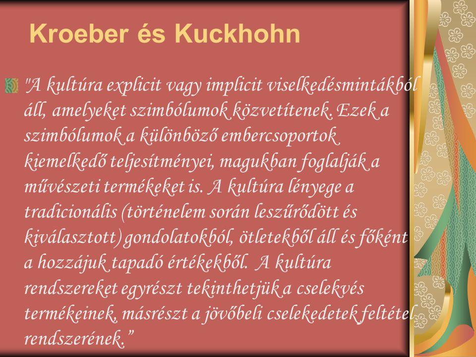 Kroeber és Kuckhohn