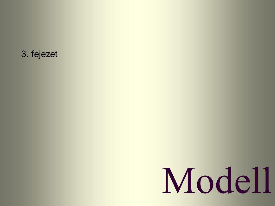 Modell 3. fejezet