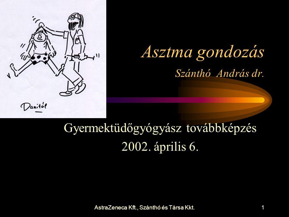 AstraZeneca Kft., Szánthó és Társa Kkt.1 Asztma gondozás Szánthó András dr.