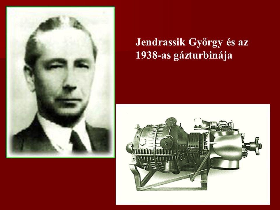 Jendrassik György és az 1938-as gázturbinája