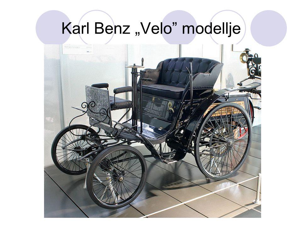"""Karl Benz """"Velo"""" modellje"""