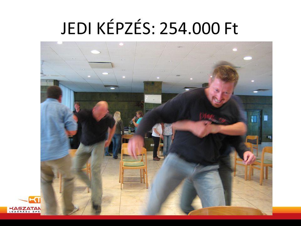 JEDI KÉPZÉS: 254.000 Ft