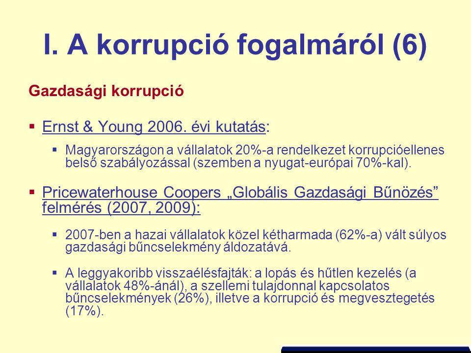 III. A magyarországi korrupcióról (10)